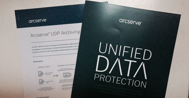 Arcserve UDP Archiving